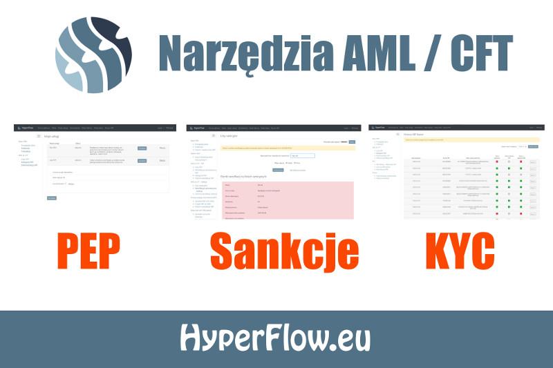 Kompleksowane rowiązania informatyczne AML - PEP, Sankcje, CRBR